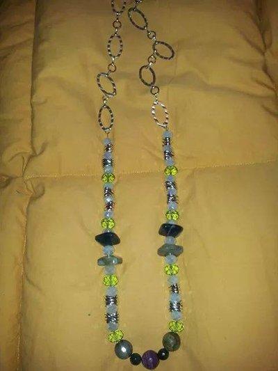 Verdiana collana verde