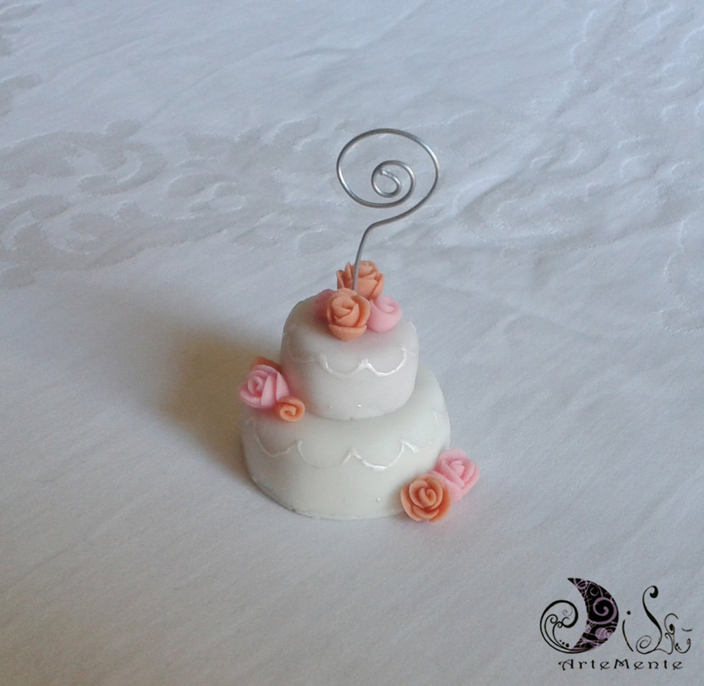 Bomboniera matrimonio mini cake segnaposto
