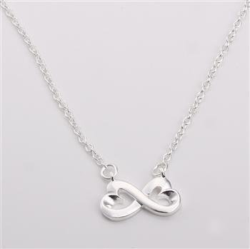 collana infinito placcato argento 925 idea san valentino