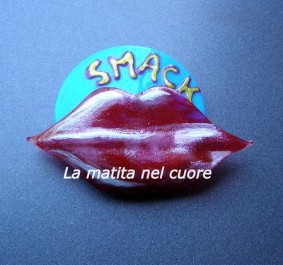 """Calamita bocca """"smack"""" in plastica pet"""