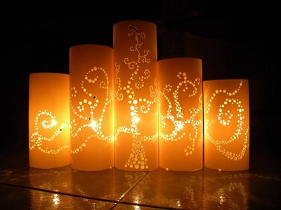 "Set 5 Lampade ""Tree of Light"""