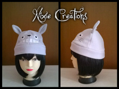 Cappello Totoro in pile - Studio Ghibli - Tonari No Totoro inspired