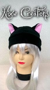 Neko Hat - Cappello con orecchie da gatto in pile