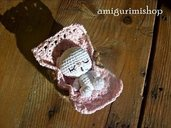 .Pattern Miniature Sleepy Bear
