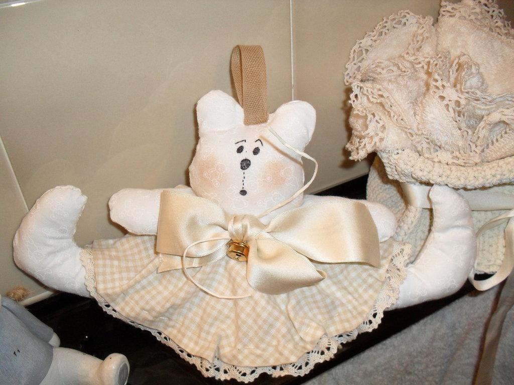 Idea regalo ,tenera orsetta x bimba