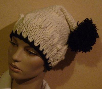 Cappello Donna in lana con pon pon
