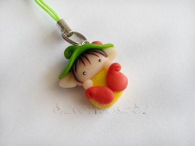Follettino Phone strap con Coccinella