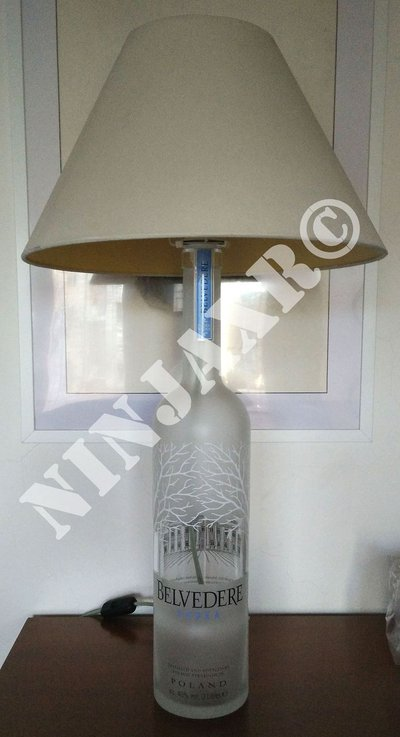 Lampada da tavolo Arredo Bottiglia Belvedere Jeroboam 3 L