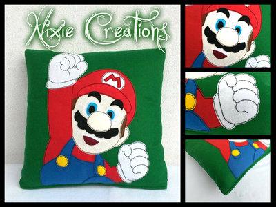 Cuscino Mario - Super Mario Bros inspired