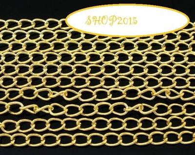 50 cm  catena catenella, dorato 5.5×3.5mm fforo circa 3x2 mm