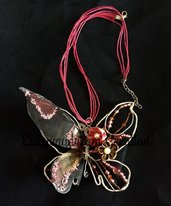 collana butterfly dark