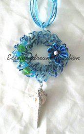 collana sugar wire blu