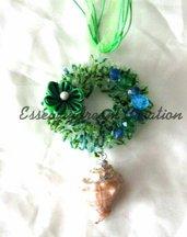 collana sugar wire verde