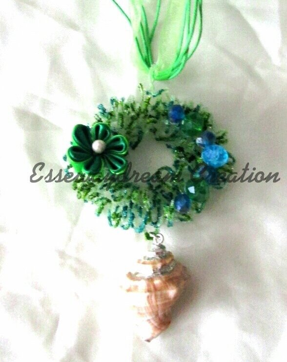 collana sugar wire verde