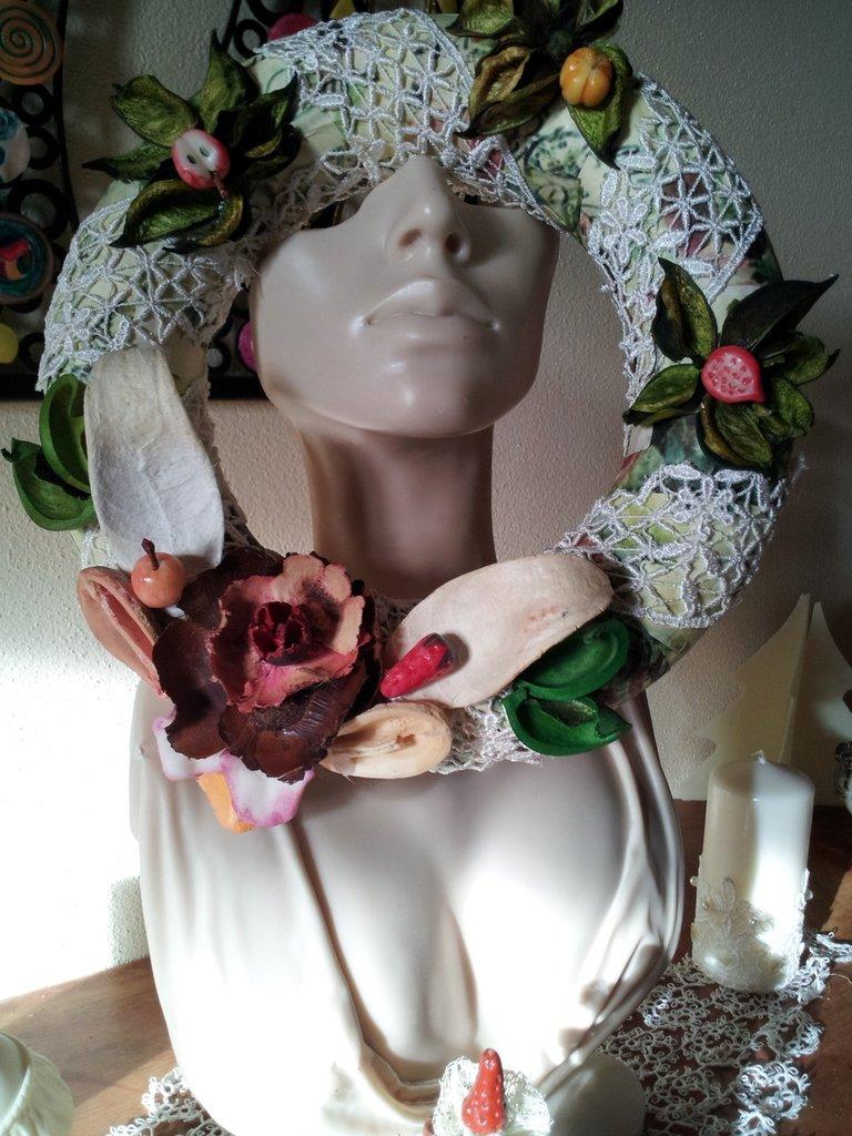Ghirlanda , frutti e fiori