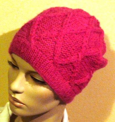 Cappello Donna in lana e mohair