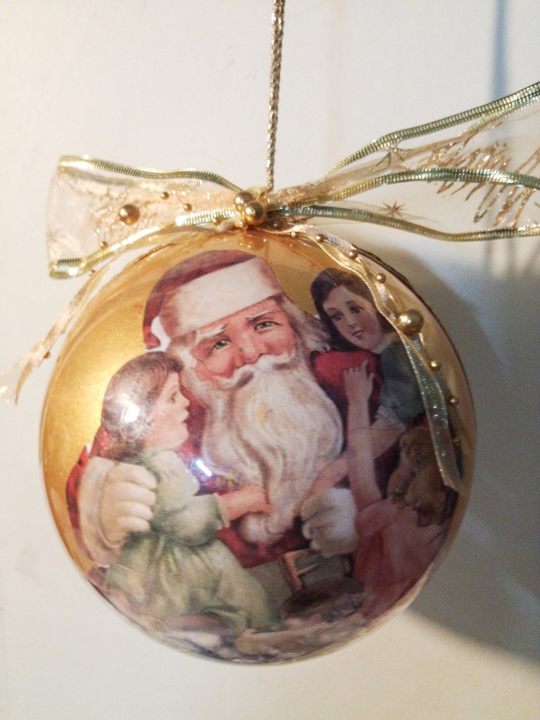 Sfera Nataliza babbo Natale 3