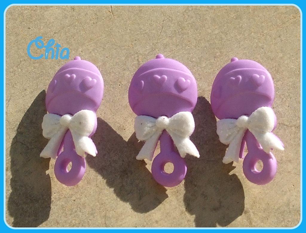 6 bottoni sonaglino baby