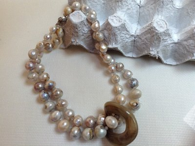 Collana in perle di fiume