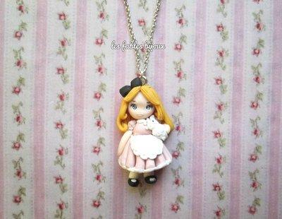 collana doll ispirata ad alice