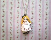 collana doll ispirata ad alice