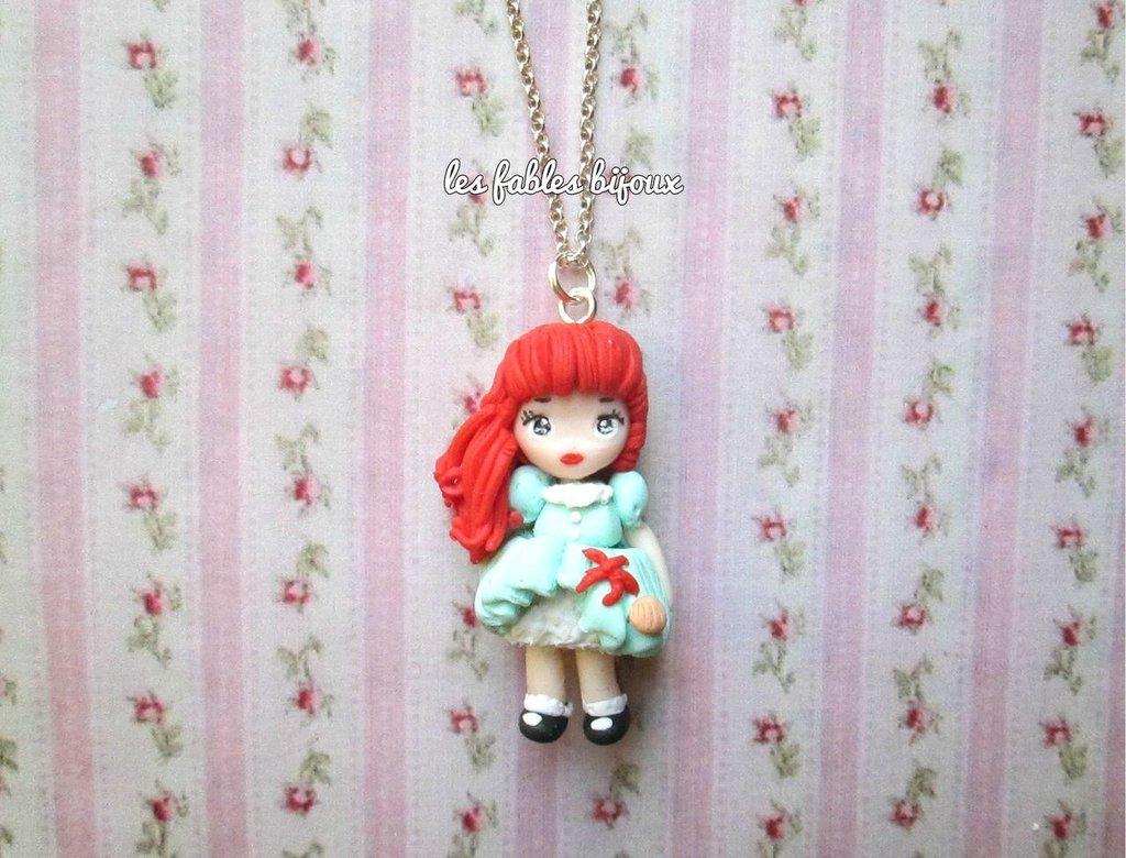 collana doll ispirata ad ariel