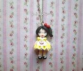 collana doll ispirata a biancaneve