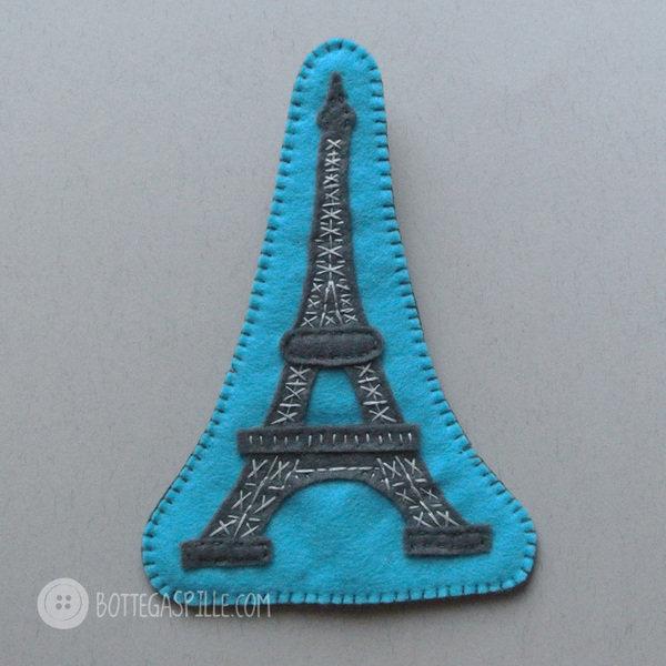 Torre Eiffel spilla