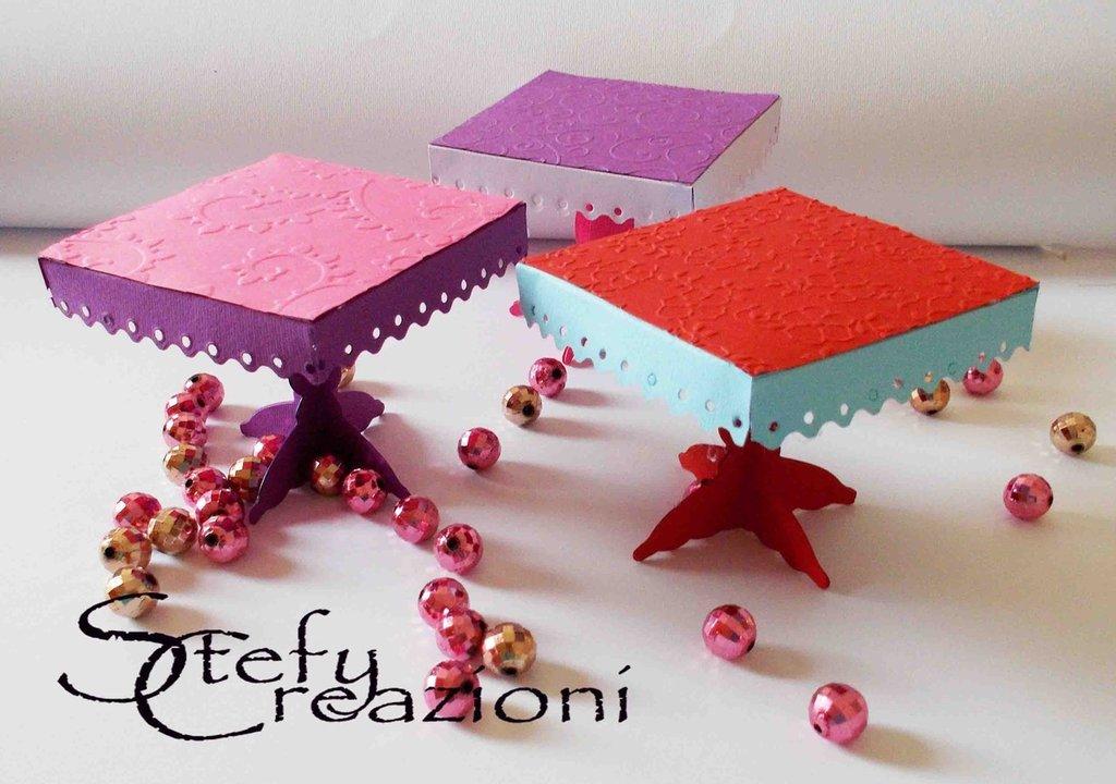 Tavolini Espositore Cupcakes / Bigiotteria
