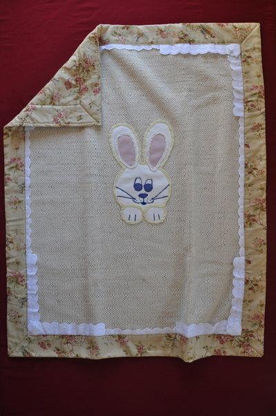 Coperta per la culla in lana per nostri piccolini .