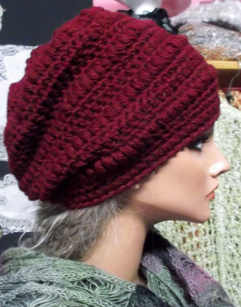 cappello donna in lana