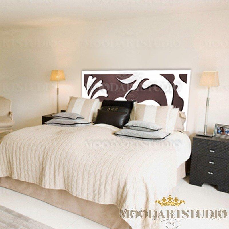 Original Brown - Testiera da letto dipinta a mano