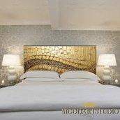 Goldensky - Testiera da letto dipinta a mano