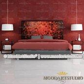 Testiera da letto Passion Red