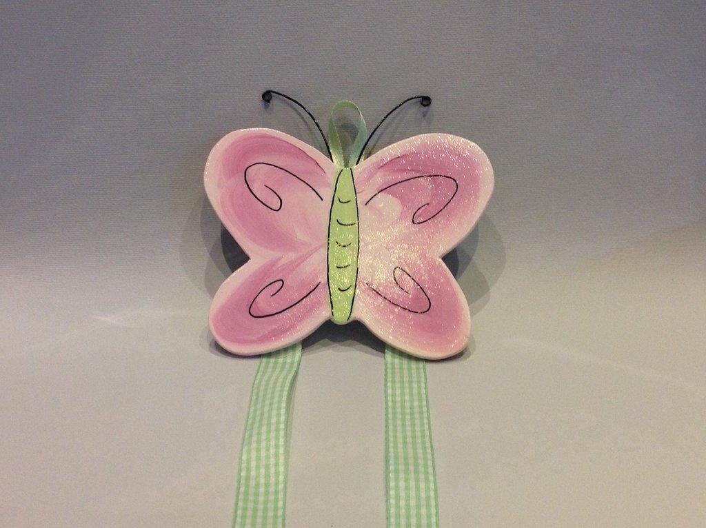 porta mollette farfalla