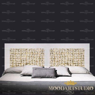 Testiera da letto Golden Stone