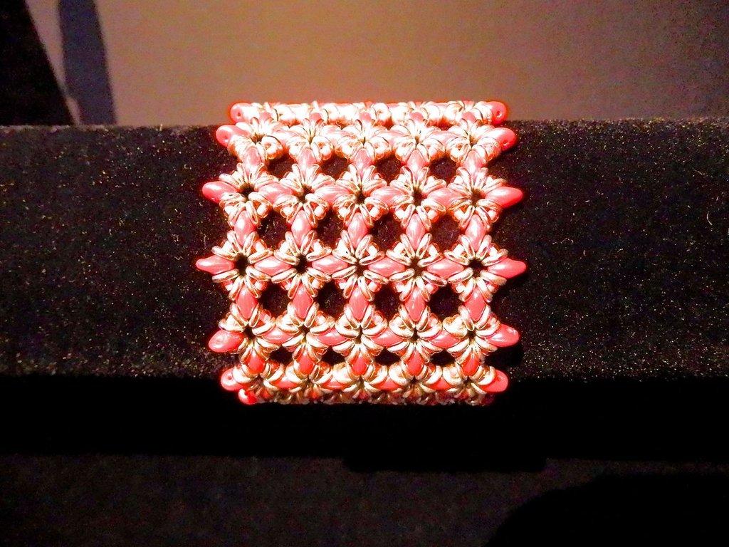 Bracciale Superduo e o'Beads