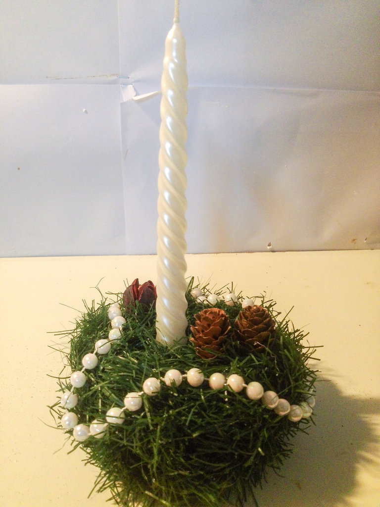 Portacandela natalizio Pigneto