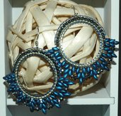 Orecchini elegance Ocean Blue