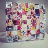 Shopping bag di riviste patinate