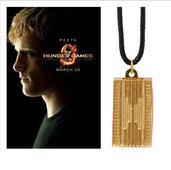 Collana ciondolo Hunger Games Peeta Katniss idea regalo lei/lui