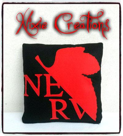 Cuscino Nerv - Neon Genesis Evangelion inspired