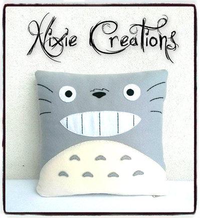 Cuscino Tonari No Totoro - Studio Ghibli inspired
