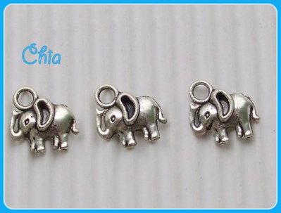 10 charms elefantini