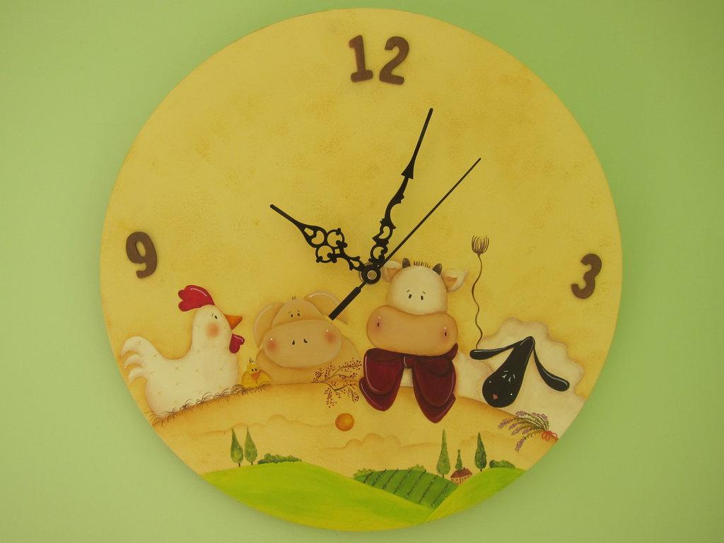 orologio da parete fattoria