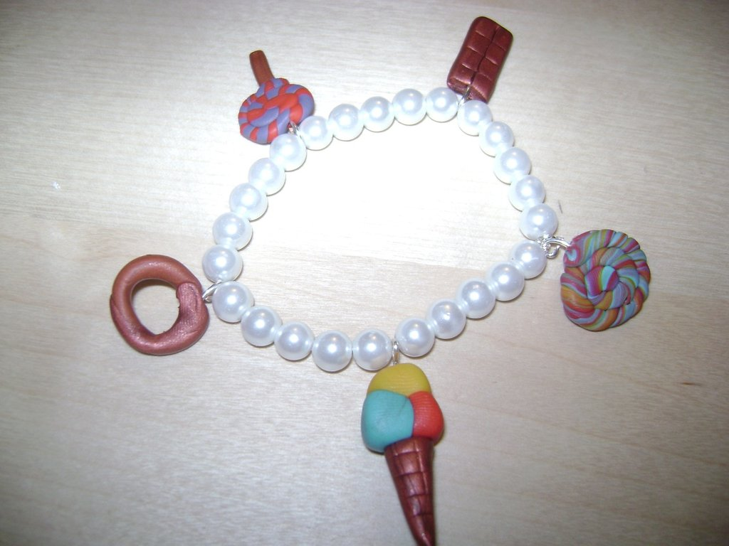 BRACCIALETTO FIMO  SWEET CANDY