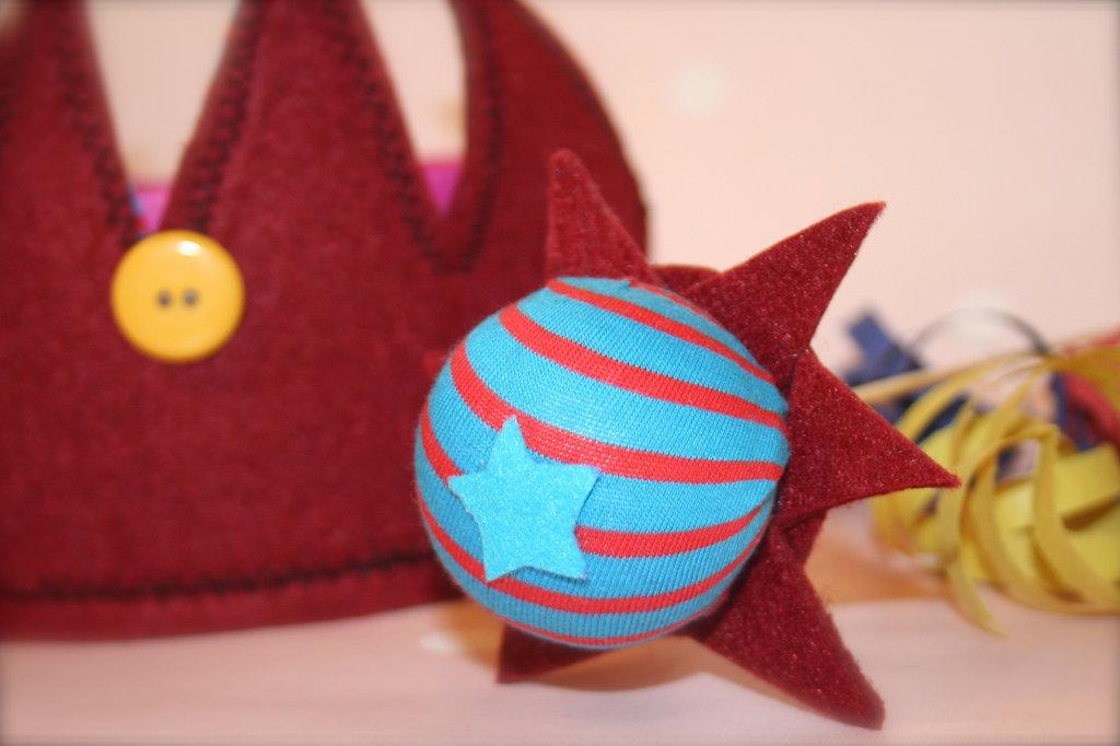 Kit corona e scettro piccolo principe carnevale