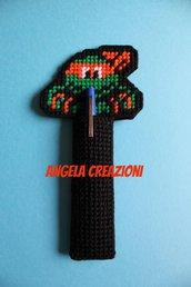 Segnalibro porta penne tartaruga ninja