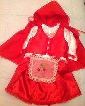 Vestito cappuccetto rosso
