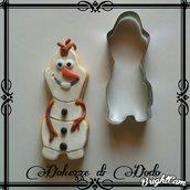 Formina Olaf di Frozen